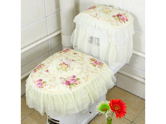 Krajkový dekorační set na toaletu