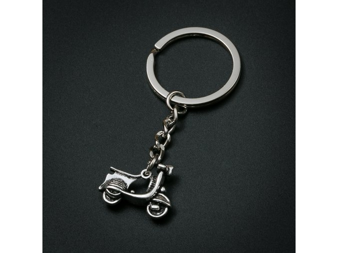 Přívěšek na klíče - motorka