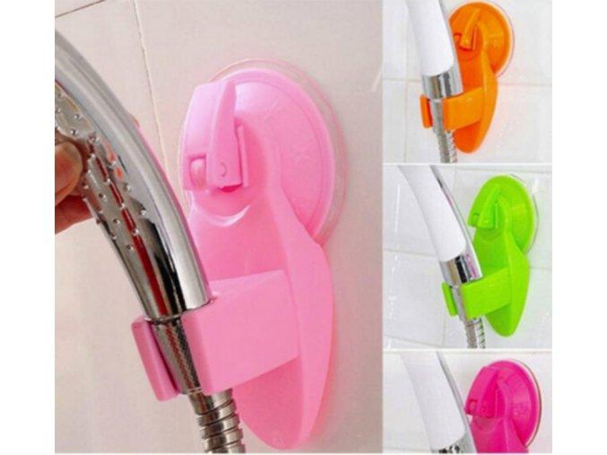 Přenosný držák na sprchovou hlavici (Barva Růžová)