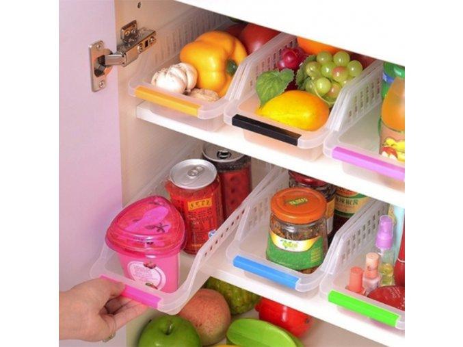 Plastové organizéry na potraviny