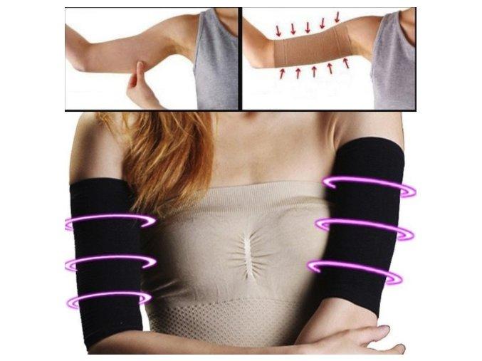 Fitness kompresní rukáv (Barva Béžová)