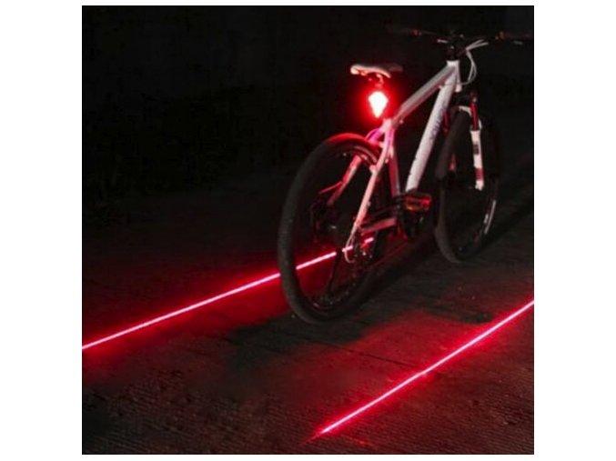LED laser na kolo (Barva Modrá)