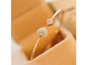 Dárky pro ženy-náramky zlatý, stříbrný - Nápad na dárek pro přítelkyni k Vánocům nebo výročí