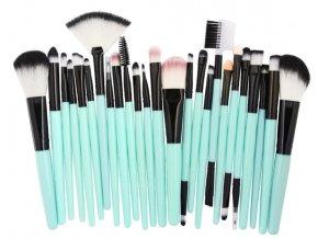 Pro ženy- profesionální štětce na make-up, líčení 25ks- TIP NA DÁREK PRO PŘÍTELKYNI K VÁNOCŮM