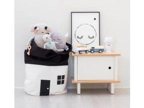 Pro děti na hračky- vak na uskladnění hraček do dětského pokoje- VÝPRODEJ SKLADU