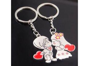 Zamilované přívěšky na klíče 1 pár- Vhodný jako dárek k Vánocům