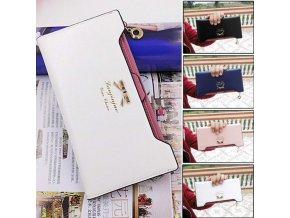 Luxusní dámská peněženka s výjimečným vzhledem (Barva Růžová)