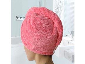 Dámský ručník turban na hlavu skvělý tip na dárek