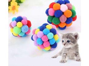 Hračky- měkký balon pro kočky- 3 velikosti- VÝPRODEJ SKLADU