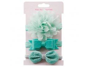 Pro dívky- krásné gumičky do vlasů 3ks více variant- SLEVA