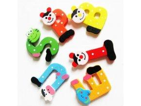 Pro děti- barevné magnety abeceda 26ks- Vhodný jako dárek k Vánocům