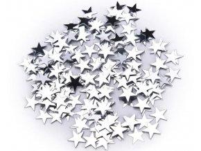 Dekorace- malé hvězdičky 3000ks/10mm více barev, na oslavu, dekorace na Vánoce, narozeniny- VÝPRODEJ SKLADU
