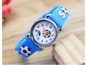 Pro děti- krásné hodinky pro malé fotbalisty- Vhodný jako dárek k Vánocům