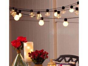 Vánoční dekorace- Vánoční, svatební LED osvětlení- 6m/20led- VÝPRODEJ SKLADU