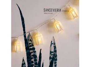 Dekorace, LED světla- LED světělný řetěz domečky 1,5m 10 LED