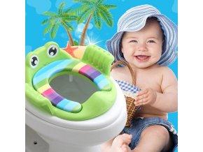 Koupelny- dětský adaptér na WC prkénko, sedátko- více barev VÝPRODEJ SKLADU