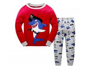 Dětské oblečení- pyžamo pro chlapce ŽRALOK- VÝPRODEJ SKLADU