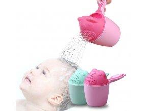 Pro děti- šikovný pomocník do koupelny i na hraní růžový, modrý- Vhodný jako dárek k Vánocům