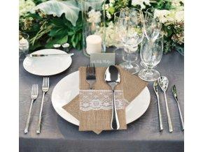 Vánoční a svatební dekorace, kuchyně- dekorační pouzdra na příbory 10ks- SLEVA