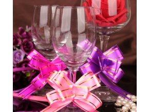 Vánoční dekorace- Vánoční, narozeninová stahovací stuha 20ks, 4 barvy