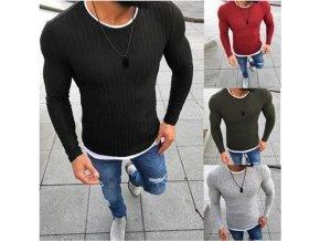 Luxusní sexy pánský zimní svetr až 3XL NEW