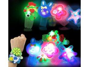 Hračky pro děti- svítící náramek pro děti- Vhodný jako dárek k Vánocům