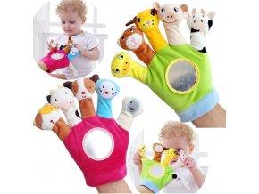 Dárky pro děti- rukavice, chrastítka, hračka na ruce- vhodný jako dárek k Vánocům