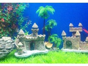 Akvarijní dekorace- hrad do akvária - SLEVA
