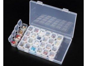 Organizér na šperky, korálky, nitě a nehty- VÝPRODEJ SKLADU