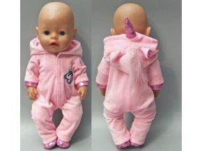 Hračky- růžový set Jednorožec pro panenky- vhodný jako dárek