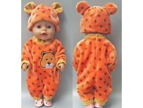 Hračky- oranžový set pro panenky- vhodný jako dárek