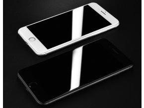 Ochranné tvrzené sklo 5D pro iPhone různé modely- bílé