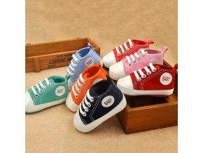 Dětské boty- capáčky pro nejmenší více barev