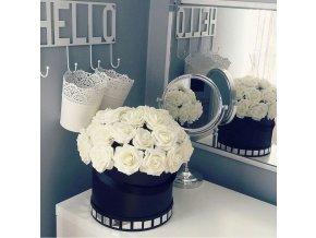 VÝPRODEJ SKLADU- luxusní umělé květiny růže na drátku 10ks, více barev- DEKORACE