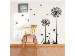 Moderní samolepka Pampeliška- vhodné do obýváku, ložnice