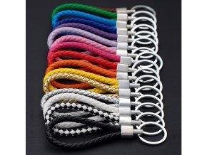Klíčenka kožené lano- ve více barvách