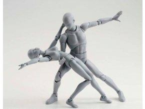 Figurka - Pohyblivý model člověka- 2 varianty