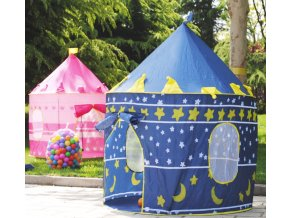 Dětský velký stan pro chlapce a dívky