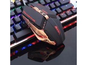 Podsvícená počítačová myš- více variant