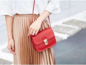 Dámská dívčí společenská kabelka přes rameno- více barev