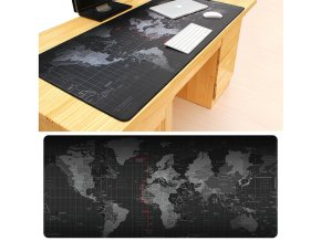 Velká podložka pod klávesnici, myš- Svět
