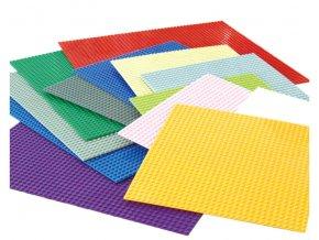 Podložka na stavění stavebnice- více barev