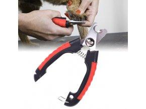 Nůžky na drápky pro psy a kočky- typ 1- dvě velikosti
