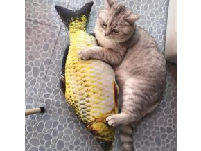 Hračka pro kočky- ryba- 3 velikosti