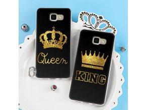 Kryt King a Queen pro Samsung S7, S8, S9