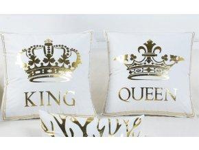 Povlak na polštář King/Queen 45x45 cm