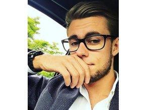 Nedioptrické brýle černé pro muže i ženy