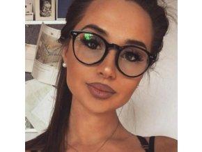 Nedioptrické brýle v černé  matné, černé lesklé, hnědé, leopardí