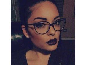 Nedioptrické brýle černé