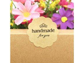 Samolepky Handmade for you 100 ks